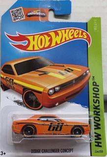 Hotwheels Dodge Challenger Concept # 234 2015