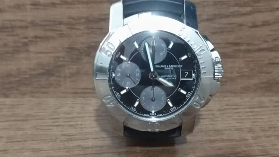 Baume & Mercier 65352 Black Chronograph