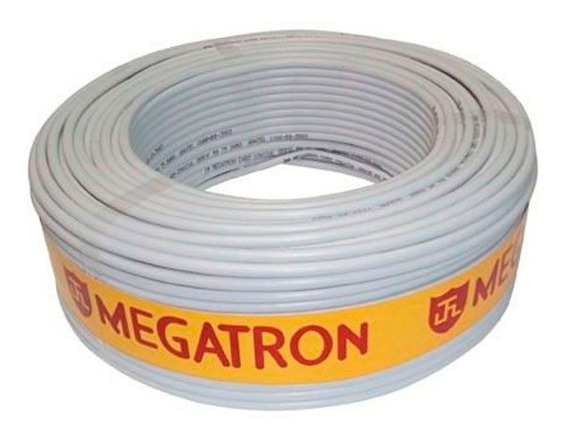 Cabo Megatron Coaxial Flexível Rf4mm + Bipolar 2x26 Awg, 85%