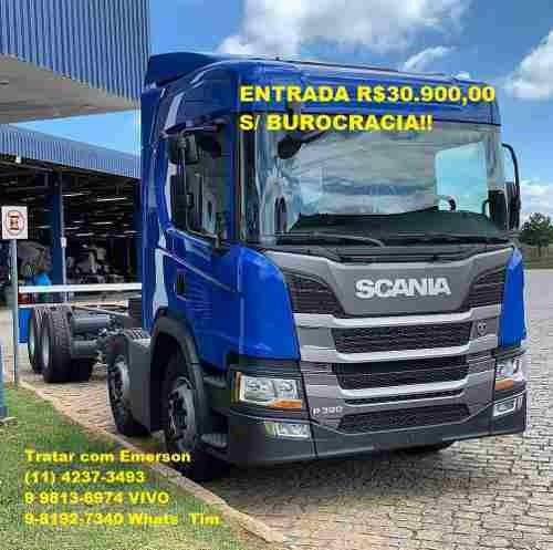 Novo Scania P320/ Bitruck Carroceria Baú Refrigerado