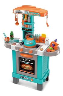 Juguete Cocina Little Chef Set Kids Niño Cook Sonido Y Luces