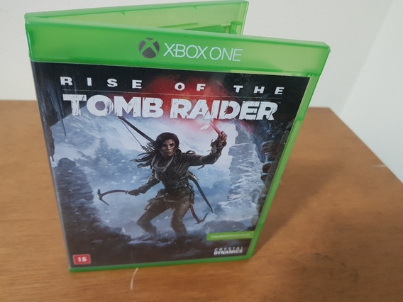 Rise Of The Tomb Raider Usado Original Xbox One Midia Fisica