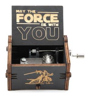 Caja Musical Black Madera Star Wars