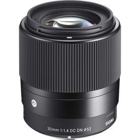 Lente Sigma 30mm F / 1.4 Dc Dn Para Sony E+bateria Np-fw50