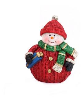 Figura De Navidad De Muñeco De Nieve
