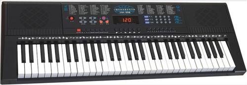 Teclado Musical Órgano Piano 61 Teclas Ritmos Calidad