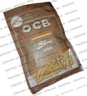 Filtros Ocb Virgin Slim X150 Biodegradables. Zig Zag. Liar.