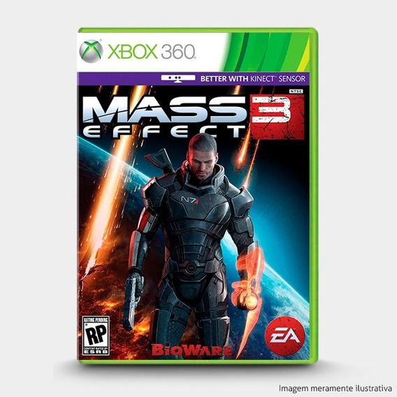 Mass Effect 3 - Original Xbox 360 - Novo