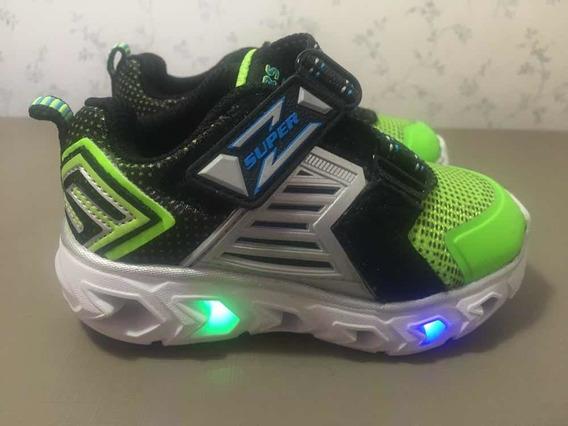Tênis Com Luzinha (skechers S-lights)