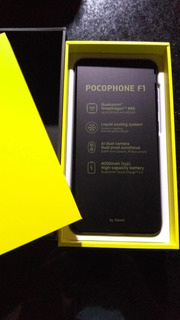 Xiaomi Pocophone F1 Tela:6.18 6gb/128gb Tela 6,18 Snap.845