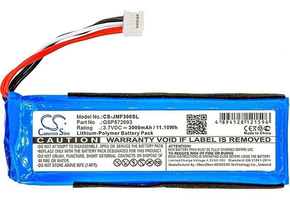 Flip 3 Bateria Gsp872693 Caixa De Som Jbl Flip 3 3000mah