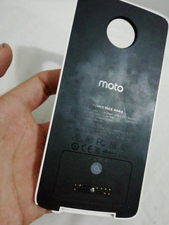 Bateria Moto Mod Power Pack Original Motorola, Color Blanco.