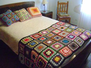 Mantas Cubre Pies Para Cama De 2 Plazas Tejidas Al Crochet