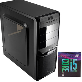 Pc 8° G. I5-8400, H310m, 8gb Hyperx, Ssd 120gb,hd 1tb, 500w