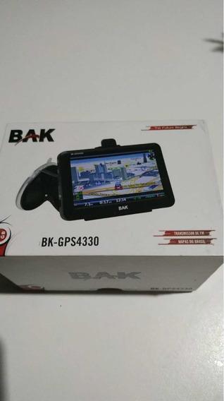 Gps Bak Bk-gps4330 Só Na Energia (não Carrega) Com Nfe