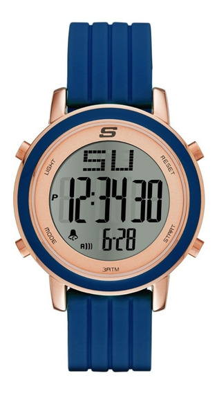 Reloj Dama Skechers Westport Sr6010 Color Azul