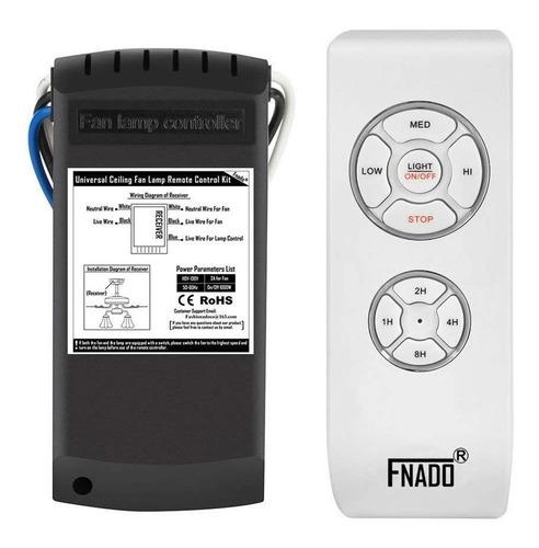 Imagen 1 de 5 de Control Remoto Ventilador De Techo Universal -envio Gratis