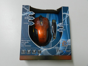 Mouse Usb Gamer Thunder Jm 1201 Bk Maxxtro