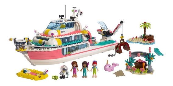 Lego Friends - Missão Com O Barco De Resgate