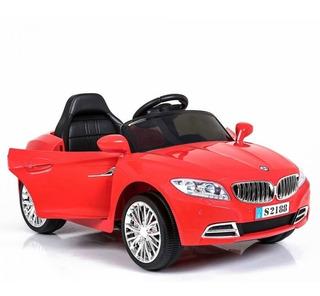 Juguete Auto A Batería Para Bebes Coupe Cabriolet Bmw Rojo
