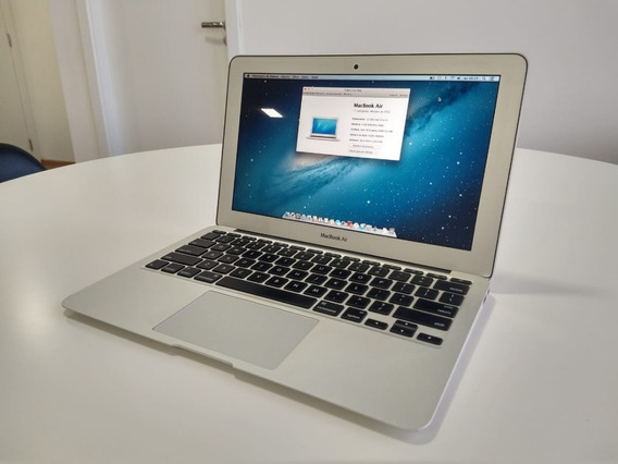 Macbook Air 11 Mid-2012 Ssd 64 Gb Core I5 4gb