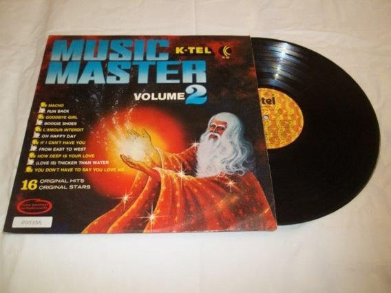 Lp Vinil - Music Master K-tel Volume 2 16 Original Hits
