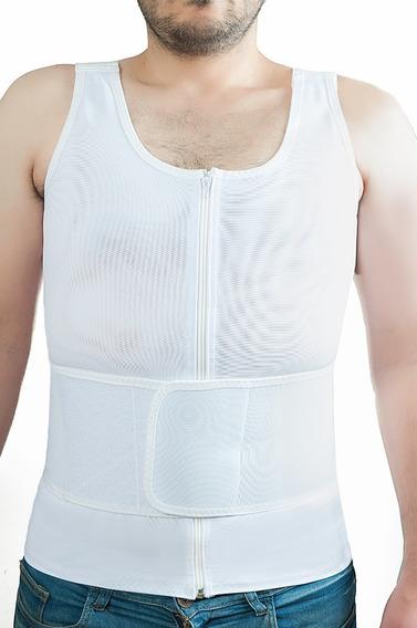 Faja Chaleco Lumbar Hombre Corrector Espalda Postura Cintura