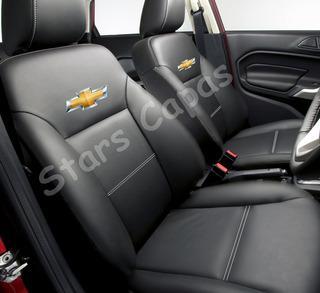 Capa Banco Carro 100% Couro + Volante Classic Ls 2012 12