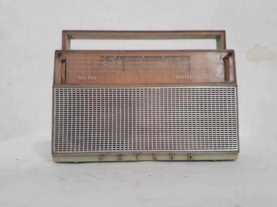 Antigo Rádio Philco Ford - Solid State - Não Funciona R