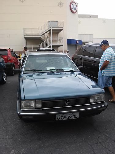 Imagem 1 de 8 de Santana Gls 2.0 88/88 Apto A Placa Preta Reliquia Azul