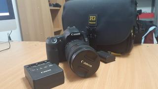 Cámara Canon 60d + Lente 18-135mm Excelente Estado