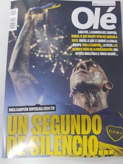 Revista Olé-boca Campeon Superliga 19/20- Especial Coleccion