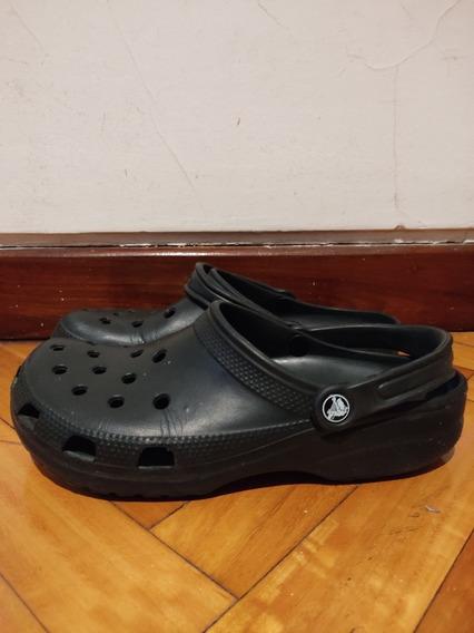 Crocs Originales Negras Talle 9 Hombre 11 Mujer
