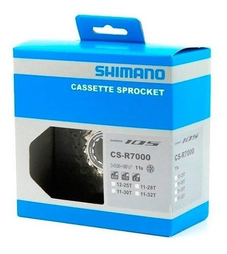 Imagen 1 de 3 de Piñón Ruta Shimano 105 R7000 11-28t 11 V. Carbonobikes!!!