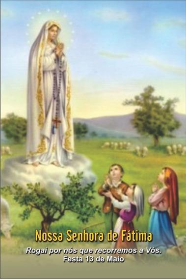 Santinhos De Nossa Senhora De Fátima - Milheiro