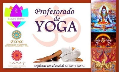 Cuota Profesorado De Yoga Shanti Plan 12 Meses