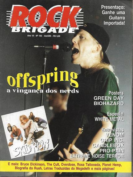 Revista Rock Brigade 105-offs Pring,skid Row,the Cult