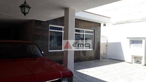 Casa Com 3 Dormitórios + Salão 147m² À Venda, 348 M² Por R$ 765.000 - Vila Paulistana - São Paulo/sp - Ca0187