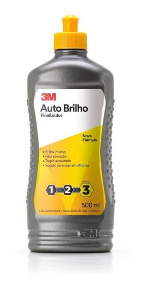 3m Cera Auto Brilho - Espelhamento 500ml Nova Fórmula 2019