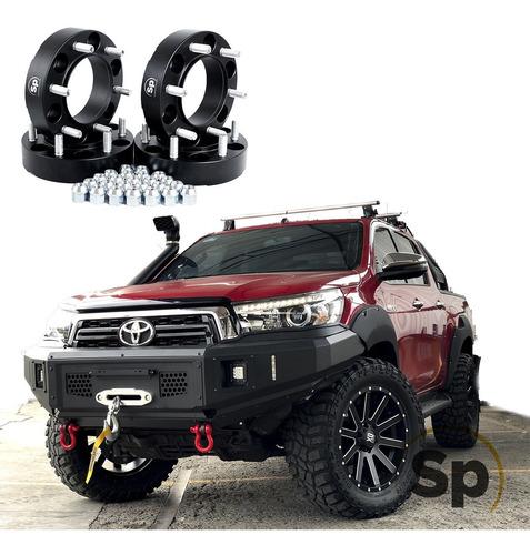 Imagen 1 de 10 de Kit Espaciadores 1.5 PuLG Para Toyota Hilux Tacoma Fj 6/139