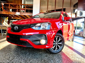 Toyota Etios 5pts 1.5nafta Xls Linea Nueva L/18 , Anticipo $