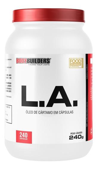 L.a. Oleo De Cartamo 240 Cápsulas - Parcelamento Sem Juros!