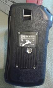 Grip Zeikos Ze-cbg7d Para Canon Eos 7d E Afins,em Bom Estado