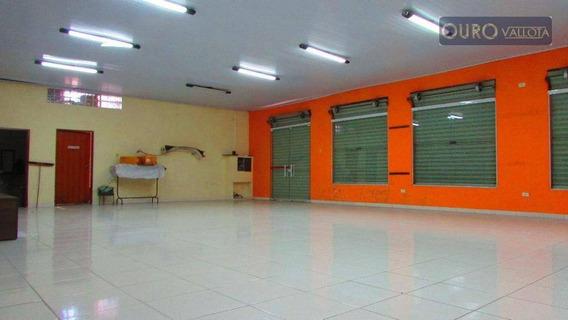 Salão Comercial - 260m² - Excelente Localização Para Qualquer Tipo De Comércio - Sl0113