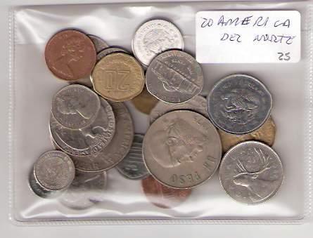 Lote 20 Monedas De America Del Norte Distintas ¡oferta!