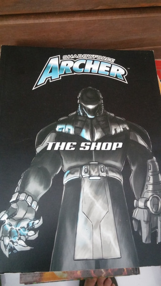 3 Livros Rpg Shadow Force Archer - Imp. Usa