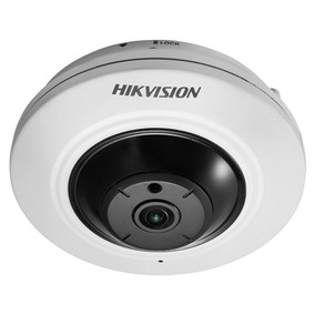 Camera Fisheye Hikvision Ds-2cc52h1t-fits 1.1 180° 5mp Ir20