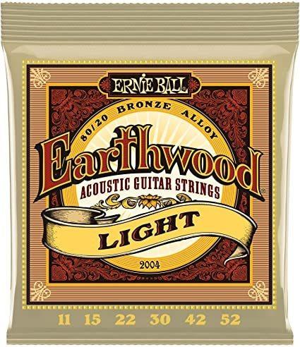 Encordado Guitarra Electroacústica Ernie Ball 2004 Earthwood