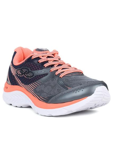 Tênis Esportivo Feminino Olympikus Like Running Coral 36