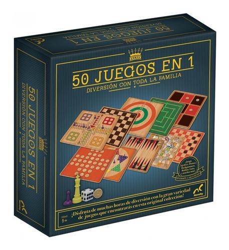 Imagen 1 de 3 de 50 Juegos En 1 Clásico Ajedrez Damas Backgammon Molino Gato